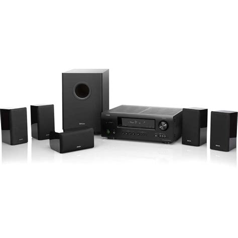 denon dht 1312xp home theater system dht 1312xp b h photo