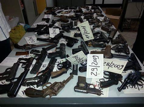 questura di ufficio armi la questura di caltanissetta rottama 120 armi applicata