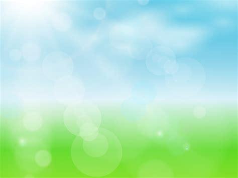 spring sun powerpoint design ppt backgrounds blue