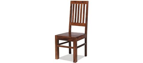 Sheesham Dining Chairs Jali Sheesham High Back Slat Dining Chairs Pair Quercus Living