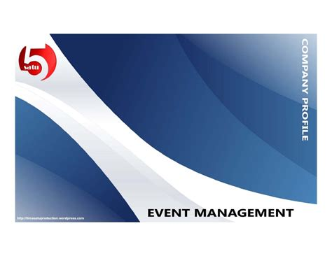 company profile design unik limasatu event management company profile