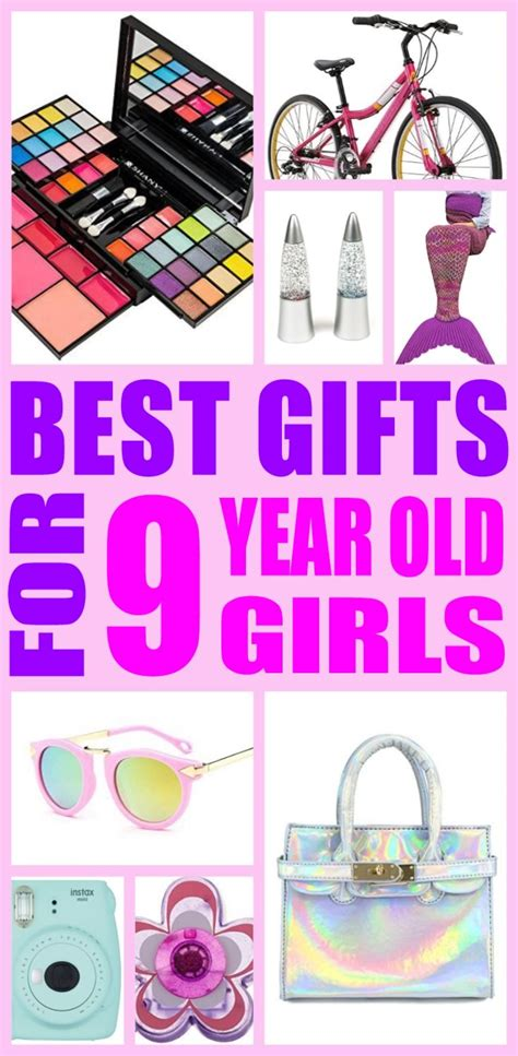 collection of christmas gift ideas for a 9 yr old girl