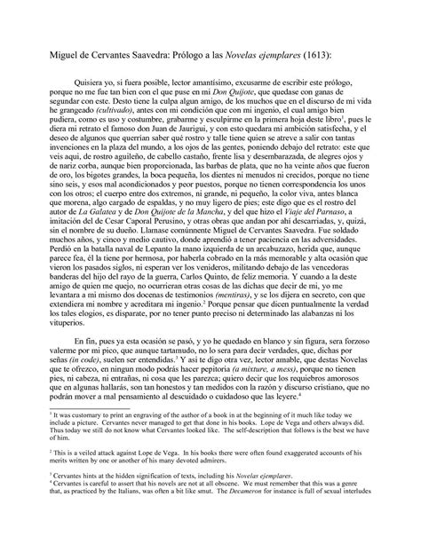 Prologo de las novelas ejemplares - evidenceservicesltd.com