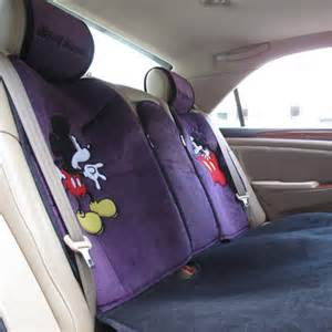 Purple Car Seat Covers Australia New Mickey Mouse Car Seat Covers Cushions Sjh008 Ebay