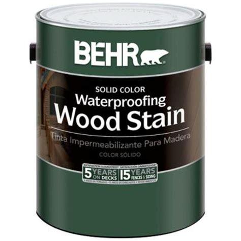 behr 1 gal cape cod grey waterproofing wood stain 236501