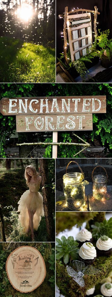 outdoor wedding enchanted brides enchanted forest wedding ideas for 2017 brides stylish