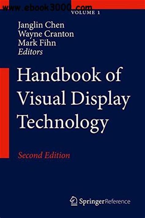 handbook of semiconductor manufacturing technology second edition books handbook of visual display technology second edition