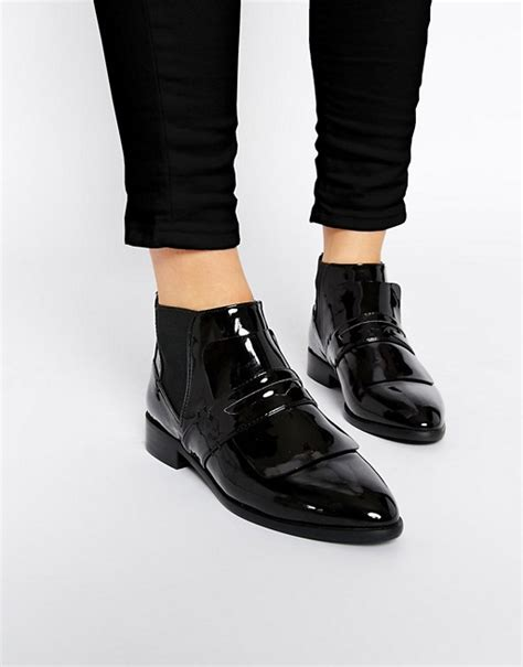 Ankle Loafers asos asos acacia loafer ankle boots