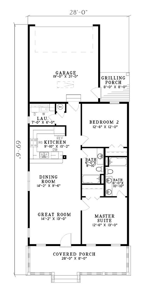 how to change the floor plan of your house first floor of plan id 23304 change garage entry to side