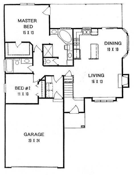 floor plans with stairs 17 best ideas about kitchen dining living on pinterest
