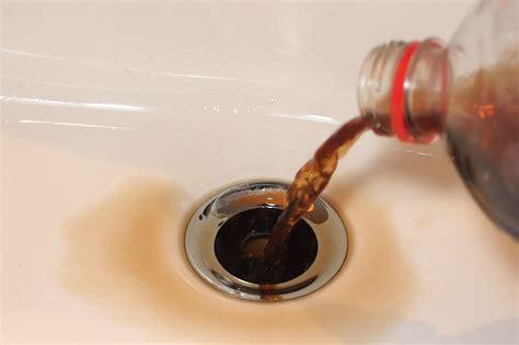 Abfluss Verstopft Was Hilft by Abfluss Verstopft Cola Frag Mutti