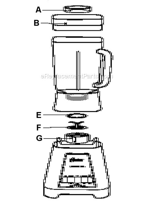 vitamix 5000 parts diagram ge blender replacement parts engine diagram and wiring