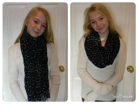 how to make a scarf into an infinity scarf scarf makeover how to turn a regular scarf into an