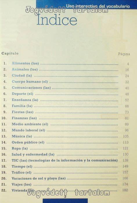 libro uso interactivo del vocabulario uso interactivo del vocabulario nivel a1 b1 edici 243 n