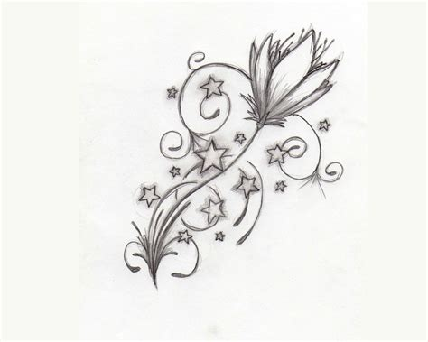 roses and stars tattoo designs flowers and designs 101 clip
