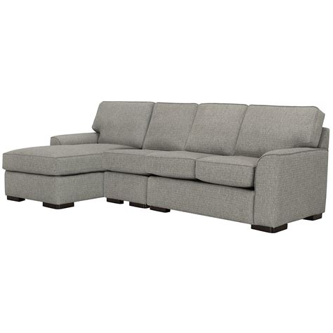 gray fabric sectional with chaise city furniture gray fabric small left chaise sectional