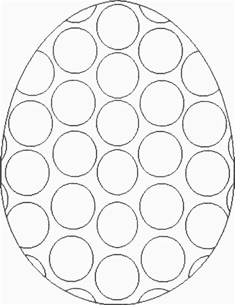 Free Coloring Pages Of Easter Egg Card Template Egg Coloring Page