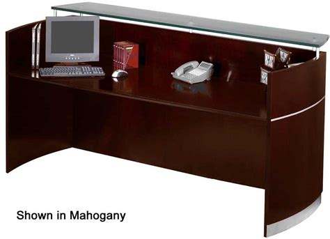 reception desk with transaction counter napoli reception desk with floating glass transaction counter