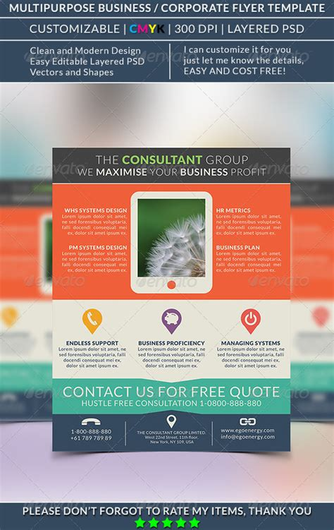 flyer design software review review multipurpose flyer template ver 15 codesign