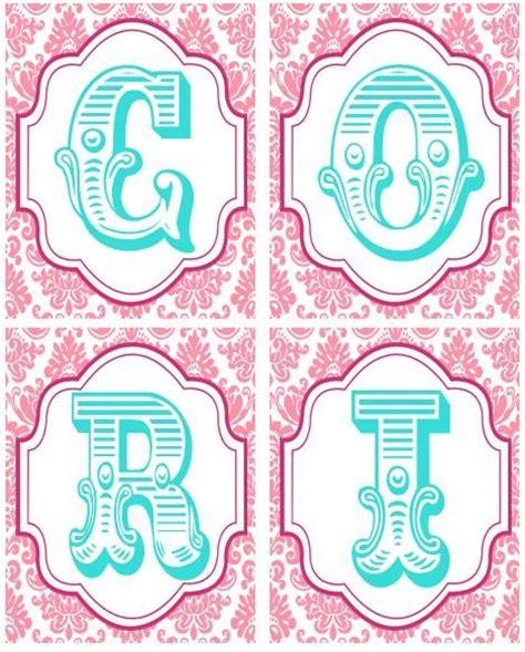 diy printable name banner printable name banner at etsy diy pinterest