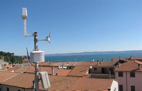 stazione metereologica da casa studiare il tempo dal tetto di casa 232 la moda delle