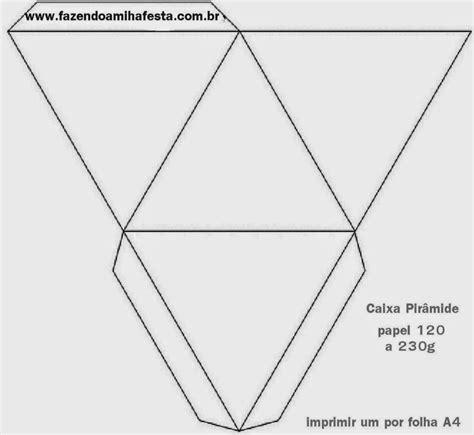 moldes de cajas de regalo triangulares para imprimir moldes gratis de cajas para fiestas ideas y material