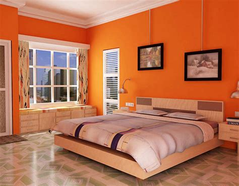 10 Most Attractive Paint Colors For Your Bedrooms Light Orange Bedroom