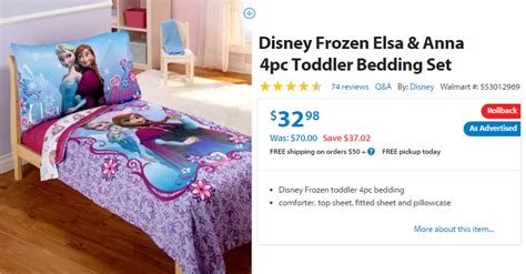 walmart frozen bedding walmart disney frozen elsa anna 4 piece toddler