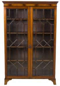 oak bookshelves with doors glass bookcases with doors foter