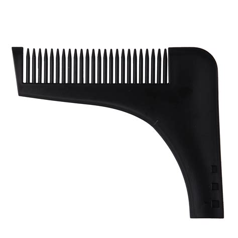 beard shaper styling template mustache comb shaping