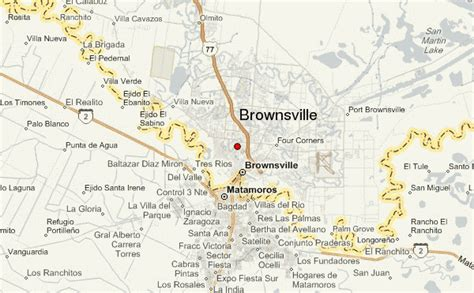 where is brownsville texas on the map brownsville location guide