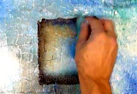 acrylic paint effects on canvas abstract modern painting techniques by dranitsin