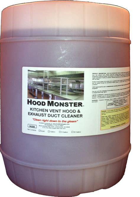 industrial degreaser cleaning solution for hoods restaurant kitchen vent hood interior design
