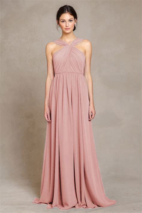 Luxe Dresses From Monsoon by 17 Stunning Blush Bridesmaid Dresses Weddingsonline