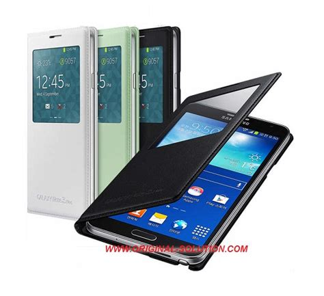 Casing Hp Samsung 2 jual samsung s view cover galaxy note 3 neo original ori aksesories handphone