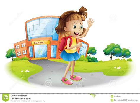 a going home from school stock images image 32941804