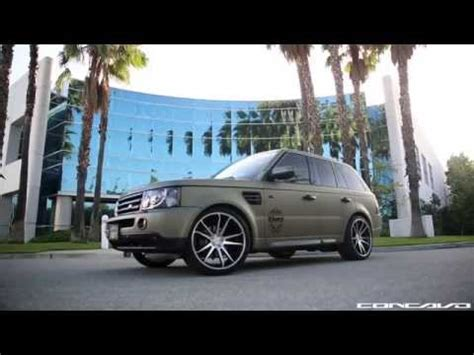 army green range rover matte green range rover on concavo cw s5 deep concave