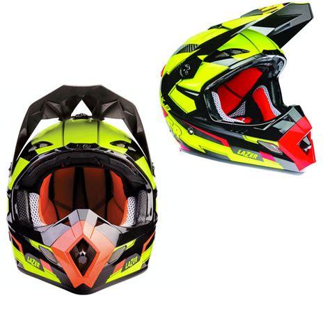 lazer mx8 geotech pure carbon motocross helmet motocross