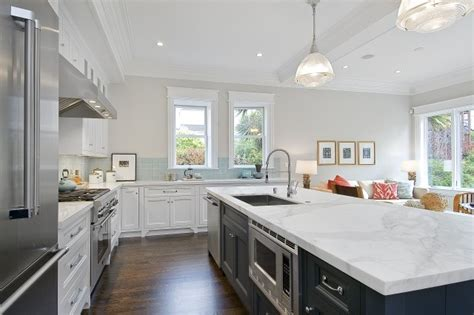 soft grey painted cabinets traditional kitchen amazing two tone kitchen with soft gray walls paint color
