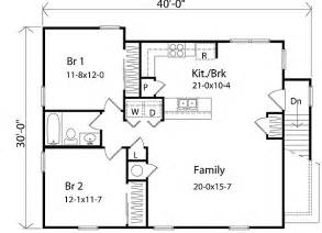 Garage Apt Floor Plans Plan W2236sl Affordable Garage Apartment E