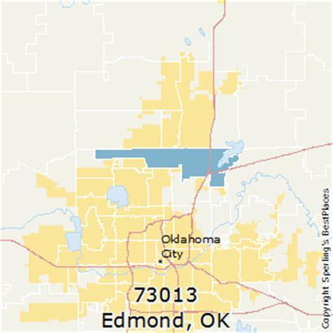 zip code map edmond ok best places to live in edmond zip 73013 oklahoma
