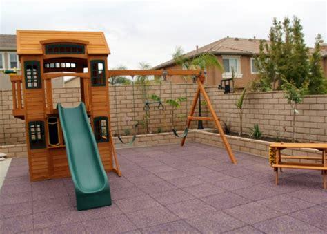 triyae backyard playground surface various design