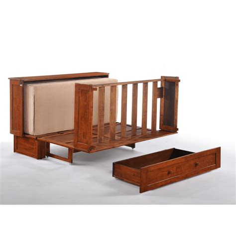 futon cabinet clover cabinet bed rich cherry easy fold out bed