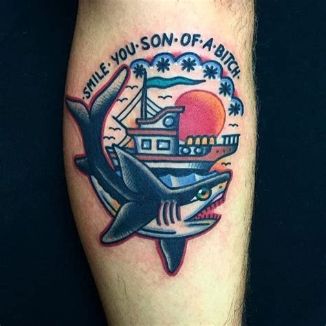 sailor jerry shark tattoo the 25 best ideas about traditional shark on