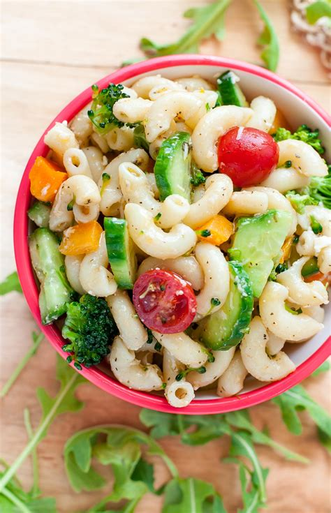 pasta salad dressing recipe veggie pasta salad with italian dressing recipe