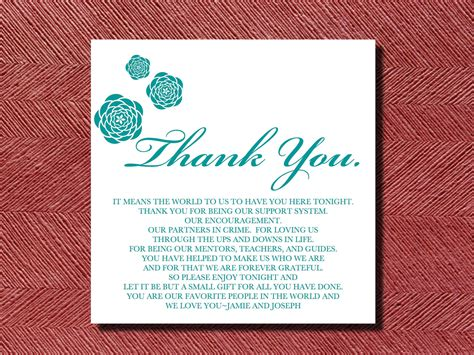 Wedding Thank You For Gift Card - wedding thank you cards wording wedding thank you card wording for more sweet to