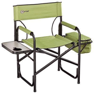 portal directors chair portal directors chair w side table cooler cing in