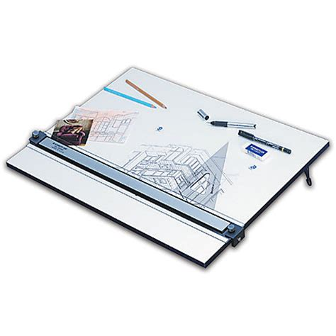 Staedtler Drafting Table Staedtler Parallel Edge Drawing Board 18 X 24 White By Office Depot Officemax