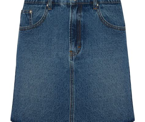 easy to wear mid blue denim skirt by primark primark