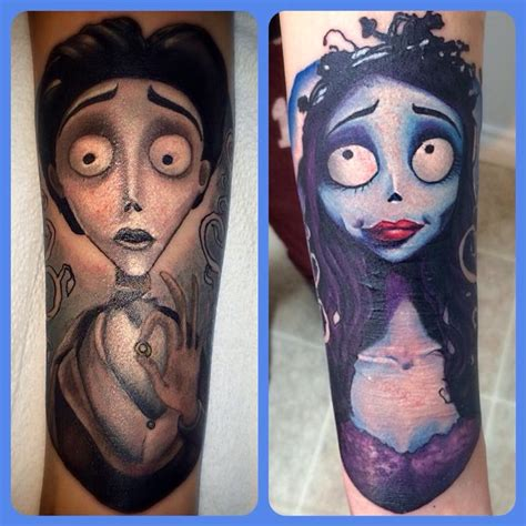 corpse bride tattoos corpse by jodie wentz tattoos